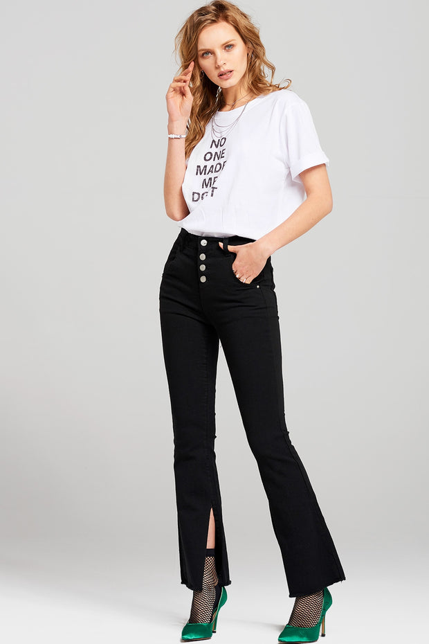 Claire Side Slit Pants