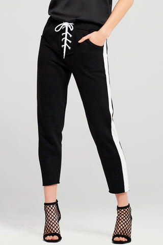 Beverly Lace Up Track Pants