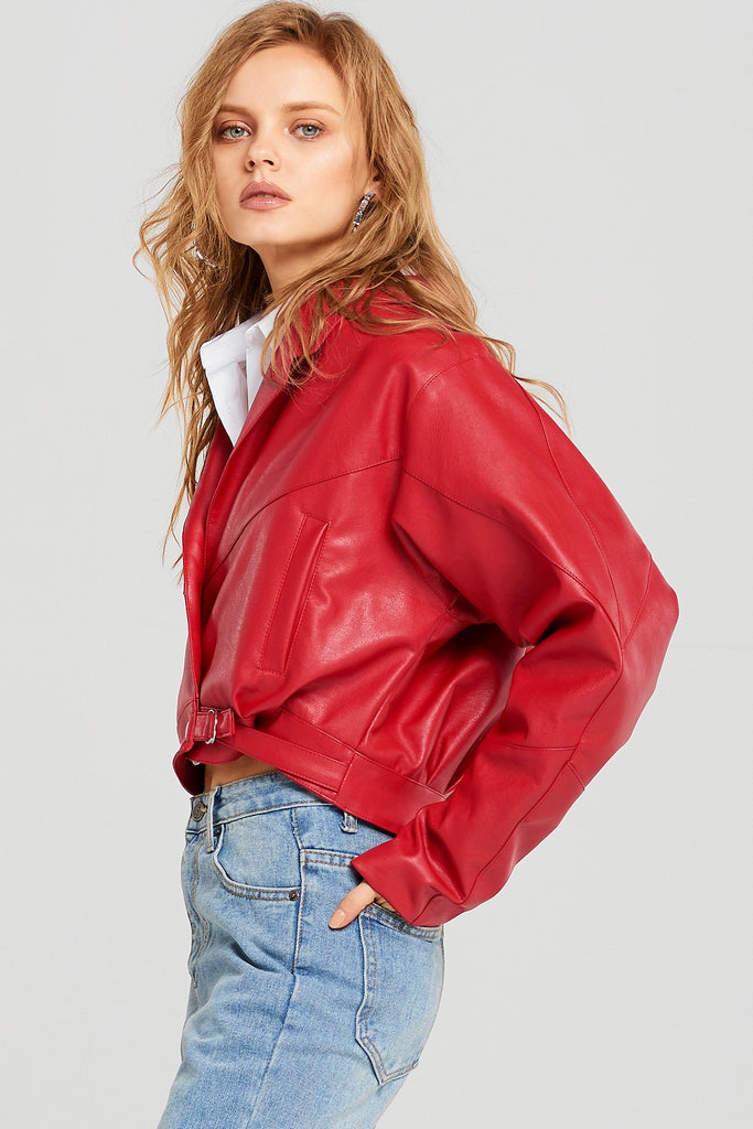 Joan Dropped Shoulder Jacket