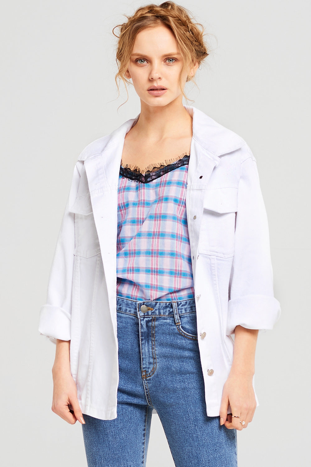 Izzy Oversize Denim Jacket