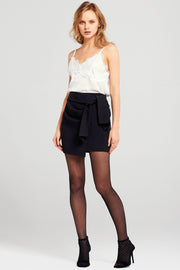 Ivana Draped Self Tie Skirt