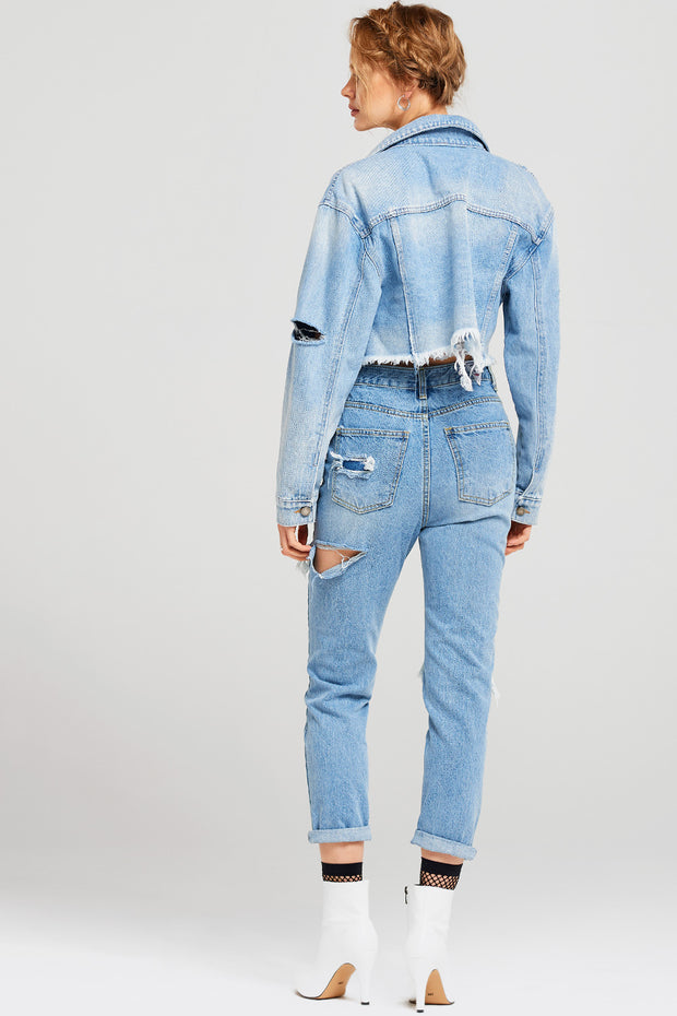 storets.com Lori Ripped Mother Jeans