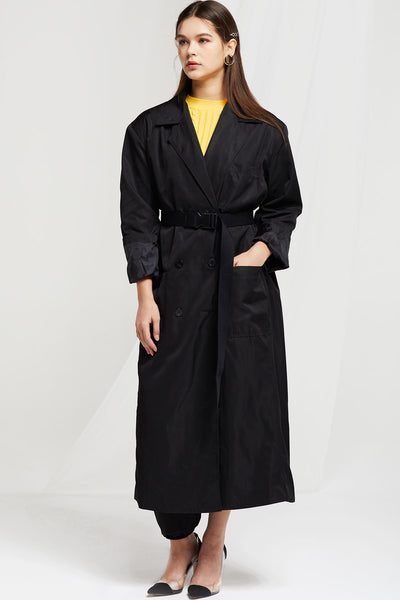Coa Single Breast Trench Coat