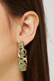 storets.com Braided Hoop Earrings