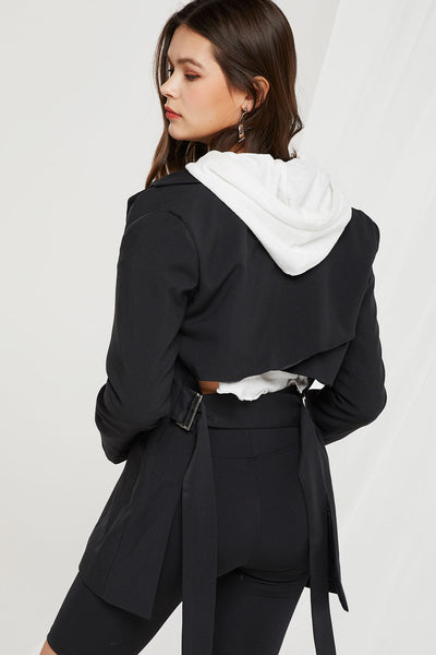 Joella Open Back Blazer