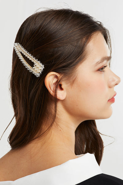 storets.com Clear Beads Hair Clip