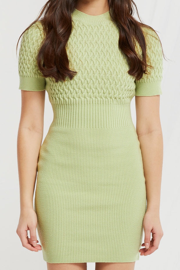 Raurel Cable Knit Dress