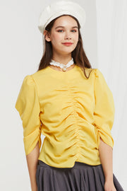 Briar Shirred Blouse