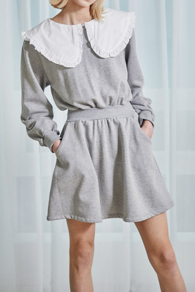 Stella Frill Collar Sweat Dress