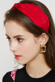 Twist Knot Pleather Headband by STORETS