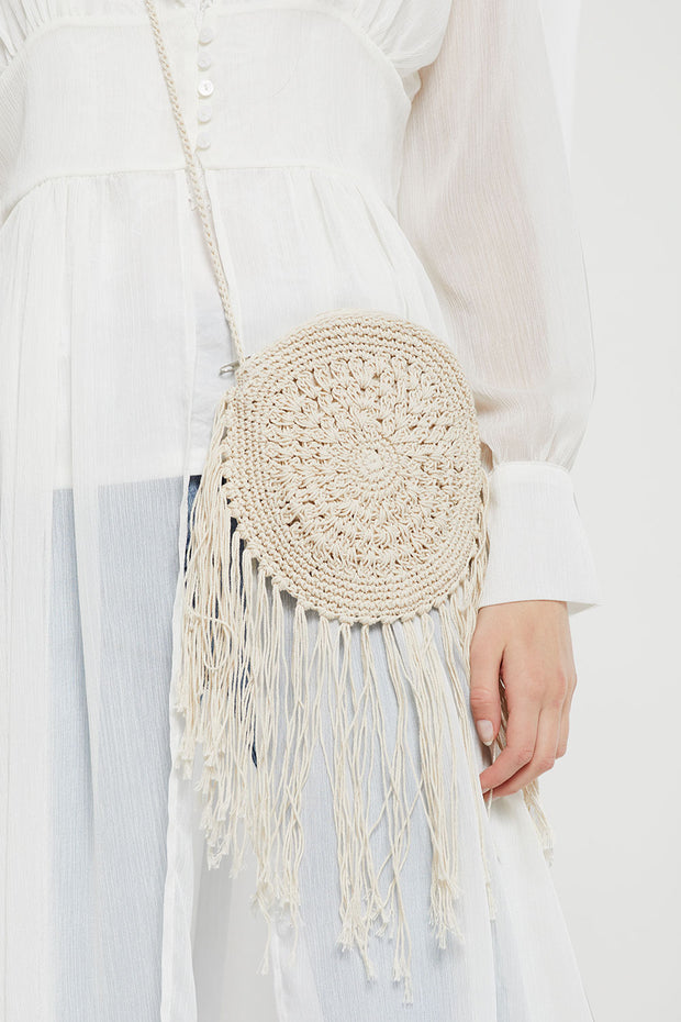 Dreamcatcher Crochet Bag