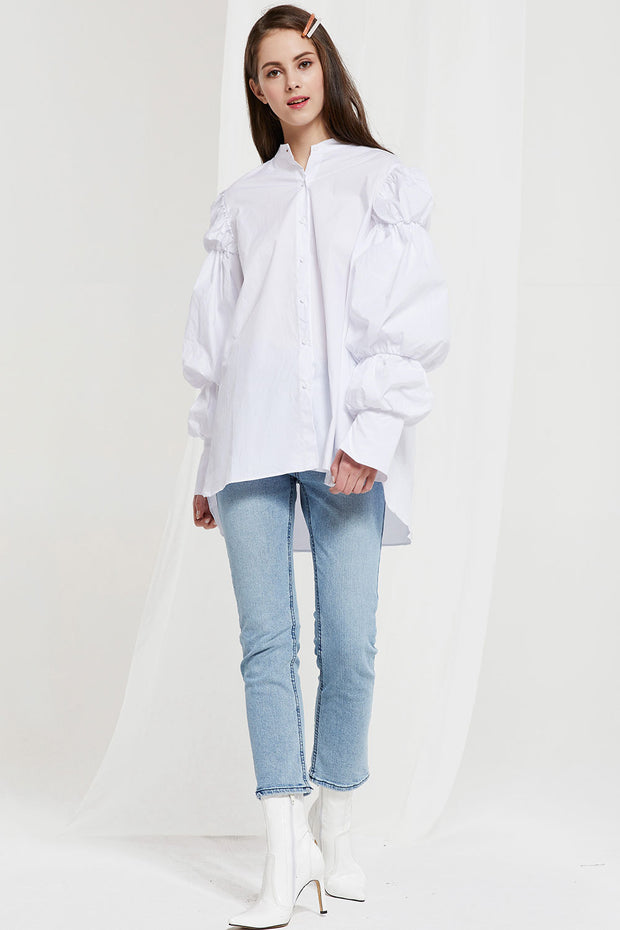 Han Mutton Sleeve Blouse (Pre-Order)