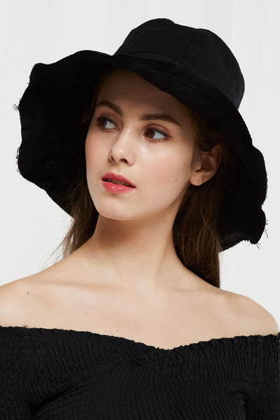 Linen Floppy Hat by STORETS