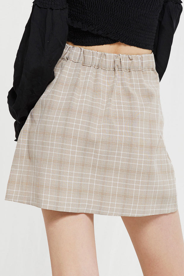 storets.com Adina Plaid Jacket And Skirt Set