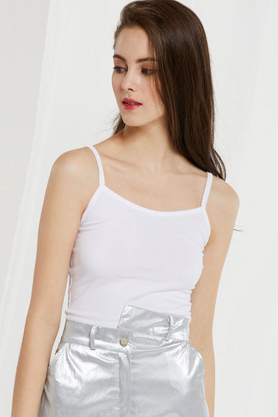 Zoe Crop Tank Top by STORETS