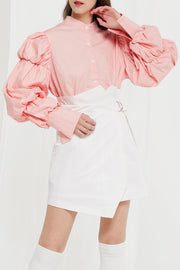 Han Mutton Sleeve Blouse by STORETS