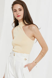 Alexis One Shoulder Knit Top by STORETS