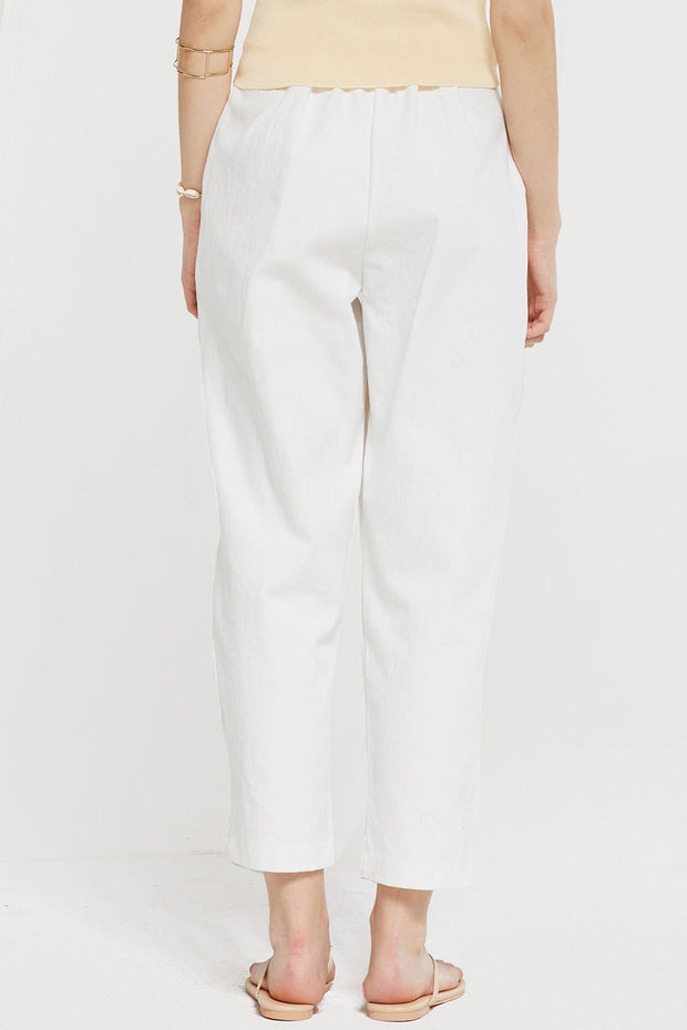 Ainsley High Waist Pegged Pants