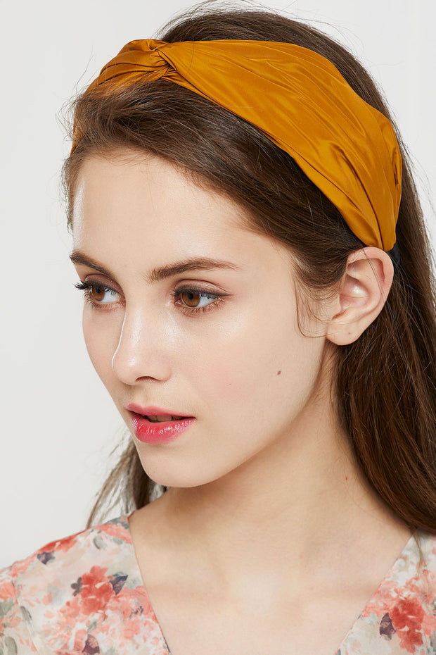 Twist Knot Pleather Headband