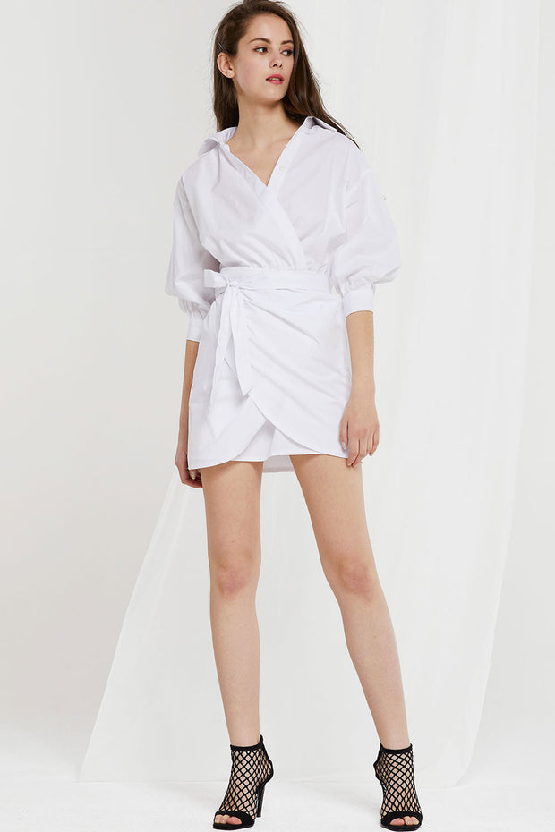 Gracie Wrap Dress by STORETS