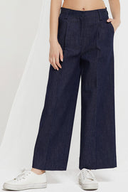Kaia Wide Leg Raw Jeans by STORETS