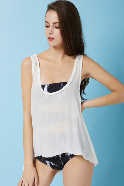 Heidi Floaty Tank Top Cover Up (Pre-Order)