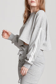 Over Thinking Cropped Sweatshirt