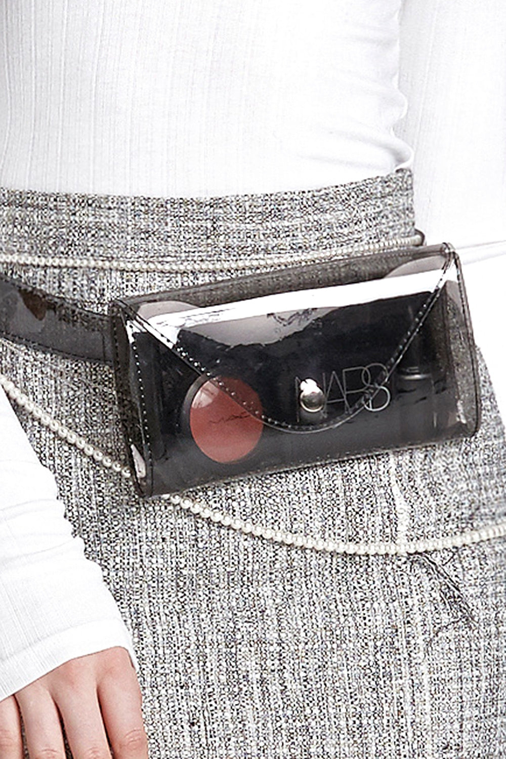 Vinyl Film Belt Bag
