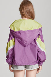 Bella Vintage Pop Windbreaker