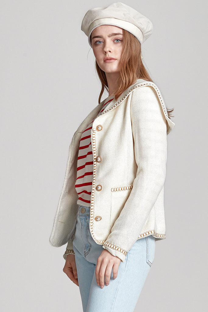 Claire Sailor Collar Jacket