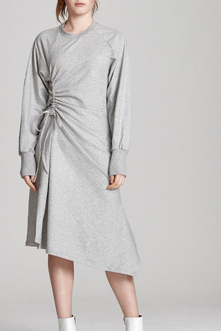 Jenna Raglan Drawcord Maxi Dress