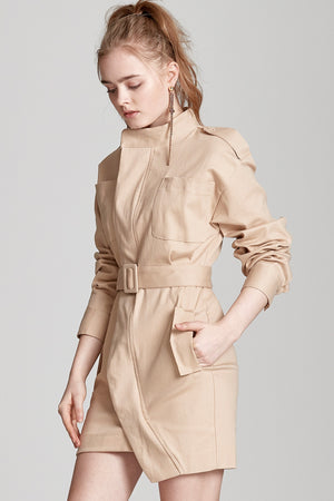 Nora Safari Jacket Dress
