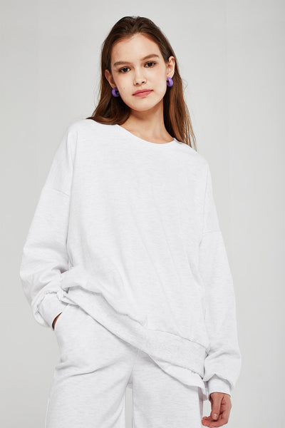 Ariana Layered Effect Sweatshirt