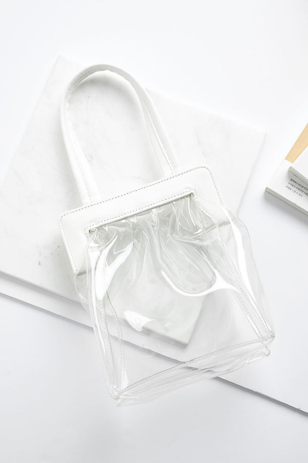 Clear PVC Tote Bag by STORETS