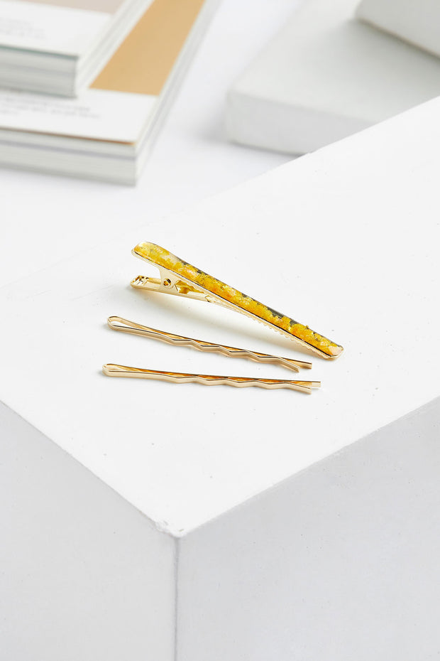storets.com Glitter Resin Hairpin Set