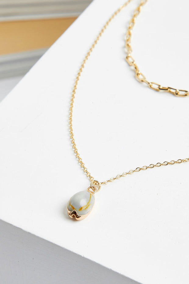 Sea Shell Layered Necklace