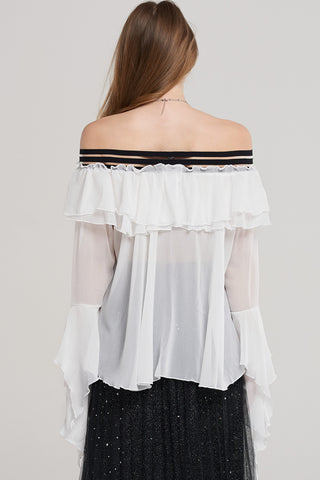 Jill Tiered Ruffle Blouse