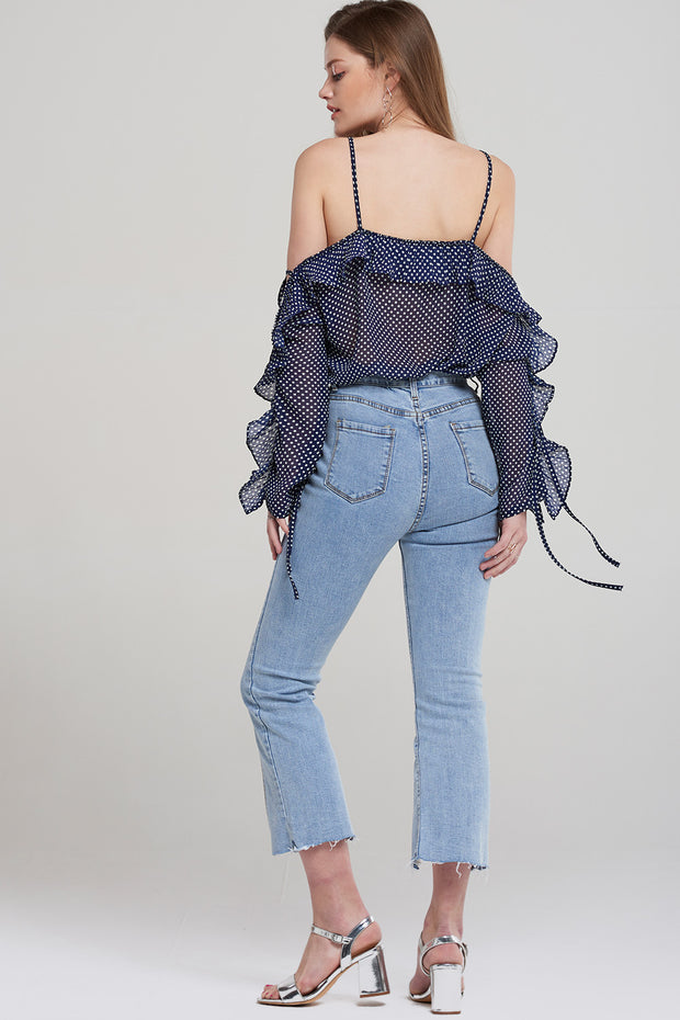 storets.com Lucy Cropped Slit Jeans