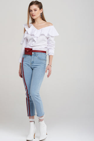 Jenna Double Stripe Jeans