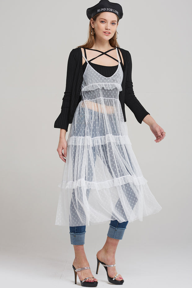 storets.com Sophie Star Tulle Slip Dress