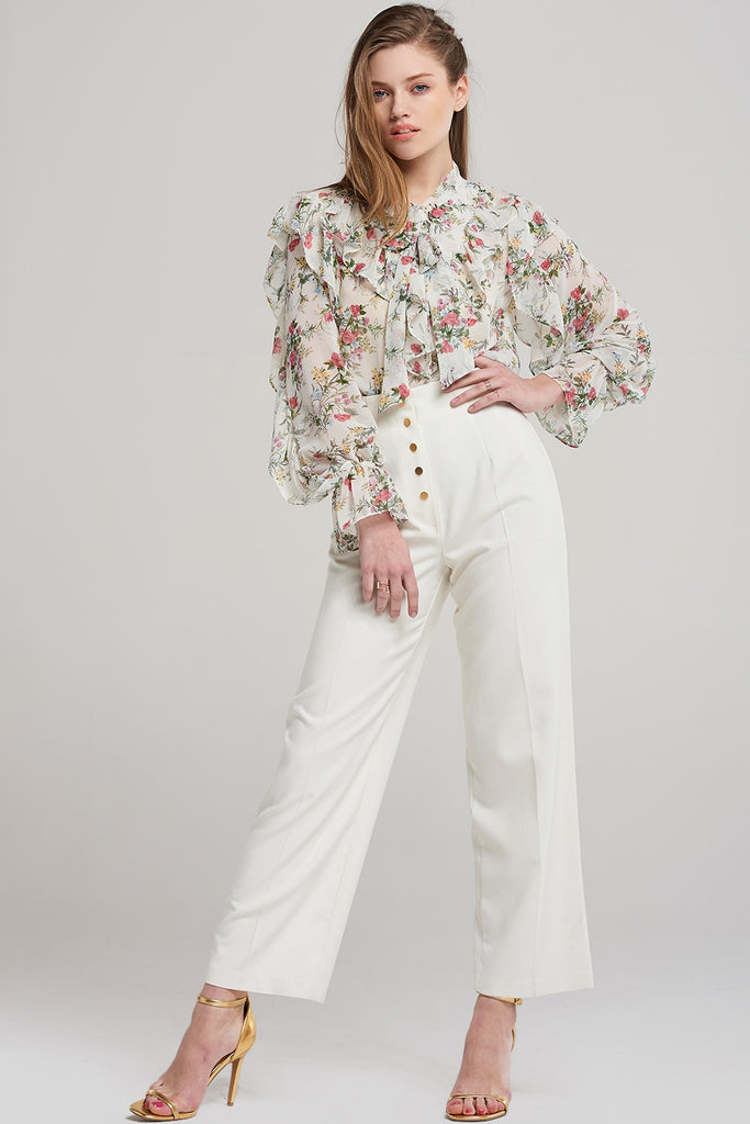 Ella Bouquet Floral Blouse