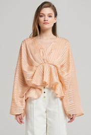 storets.com Linda Draped Shawl Blouse