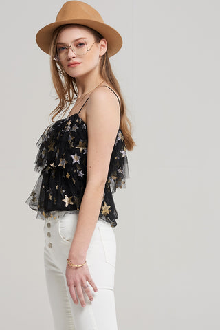 Evie Star Slip Top