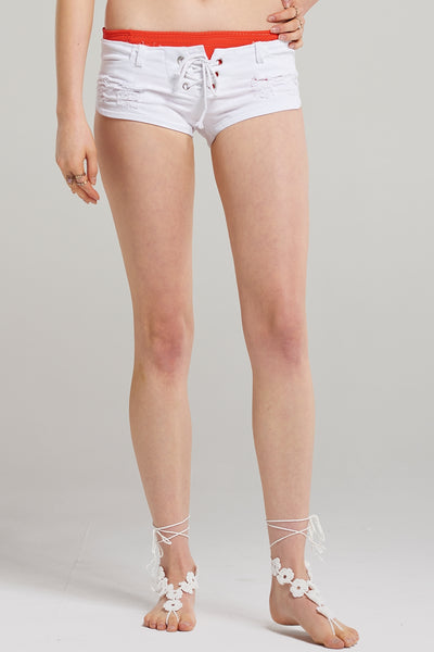 Kelly Corset Lace Shorts