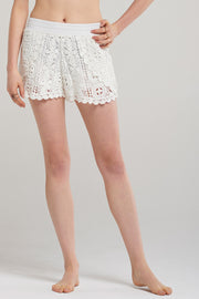 Summer Crochet Lace Shorts