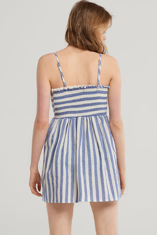 Candy Striped Ribbon Dress