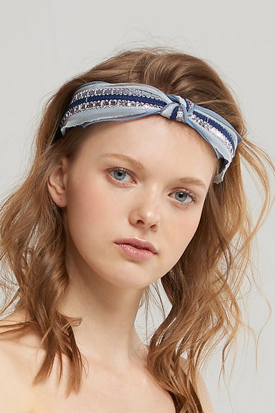 Sequin Knot Hairband