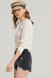 Gemma Distressed Sweater