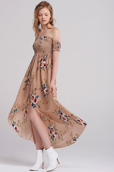 Camile Tulip Print Dress