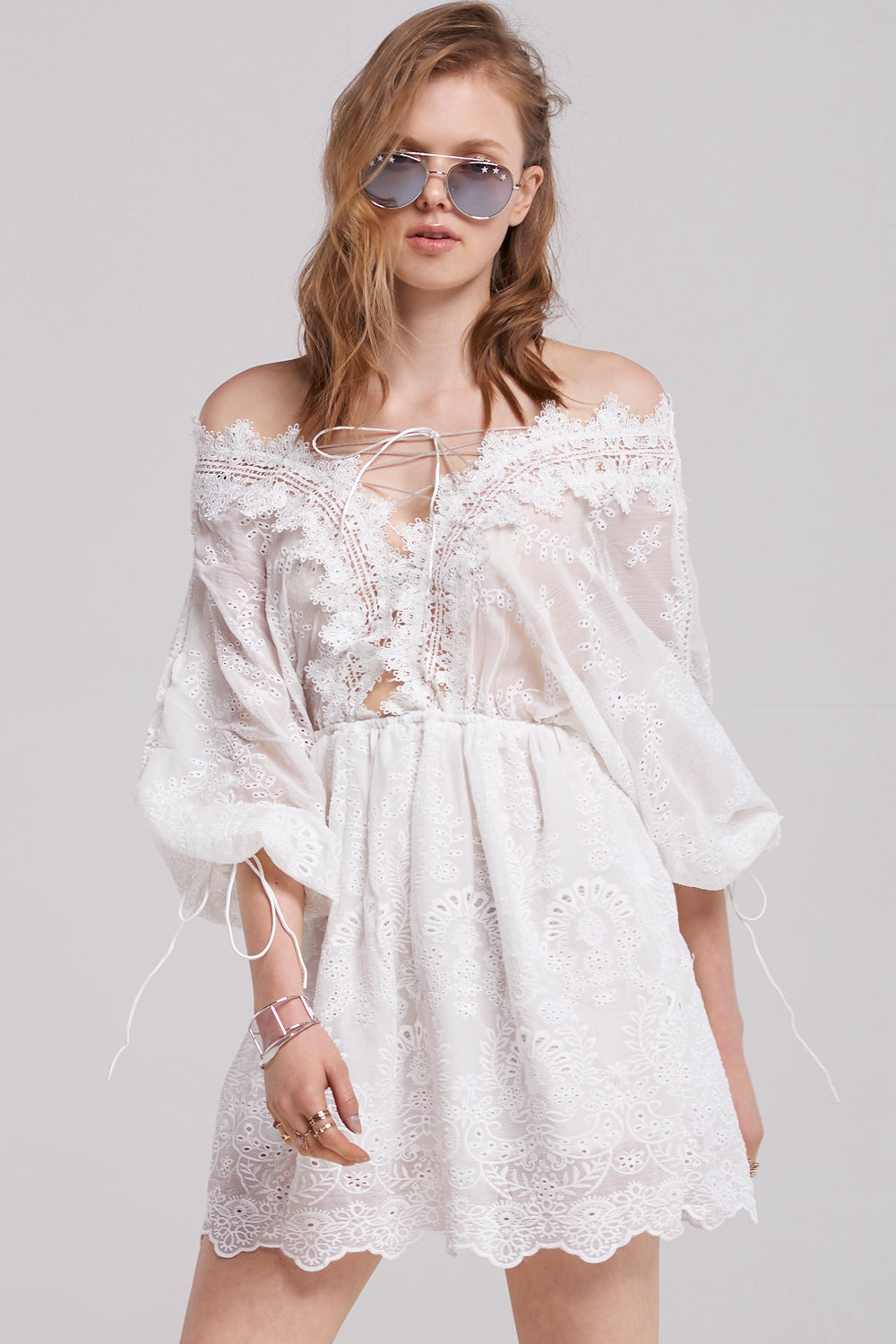 Vicky Valentine Lace Dress
